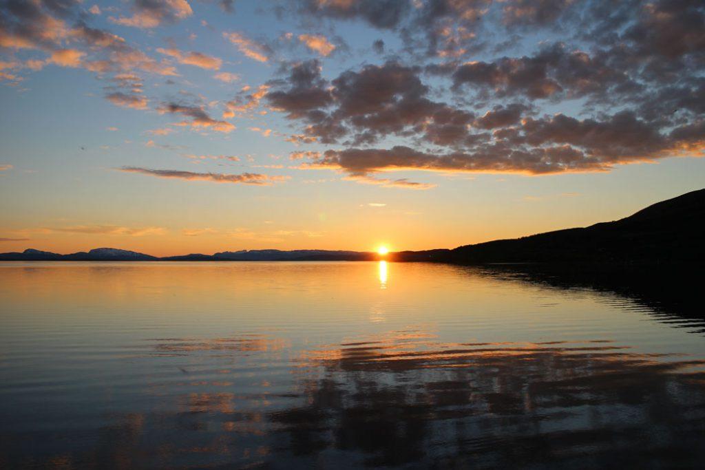 Padjelanta Virrijaure Sunset