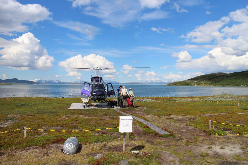 padjelanta helicopter
